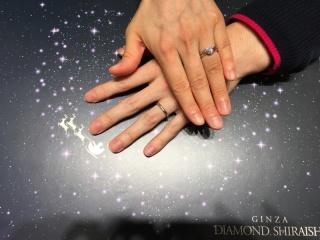 【銀座ダイヤモンドシライシの口コミ】 国内のジュエリーブランドも検討しましたが、シライシさんのものがいちばん…
