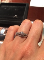 【JEWELRY  KAMATA(ジュエリーかまた)の口コミ】 祖母から頂いた指輪をどうしてもリフォームしたくて、実績のあるお店とお…