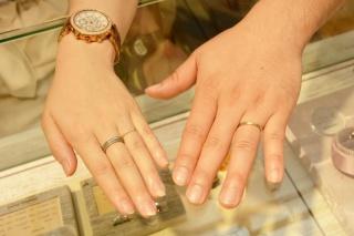 【LAPAGE(ラパージュ)の口コミ】 たまたま京都から来ていた指輪のメーカーさんが購入した指輪を出してくれ…