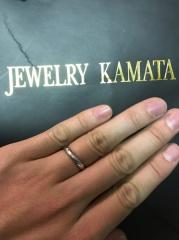 【JEWELRY  KAMATA(ジュエリーかまた)の口コミ】 フルオーダーということもあり、とても満足できるものになりました。 なん…