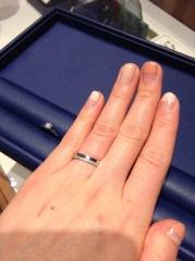 【銀座ダイヤモンドシライシの口コミ】 貰った婚約指輪が銀座ダイヤモンドシライシのものだったので、同じブランド…