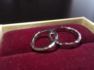 【ichi(イチ)の口コミ】 鍛造で作られており、唯一の指輪であること、デザインもとても気に入って…