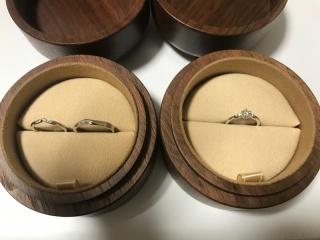 【COLANY(コラニー)の口コミ】 私自身は特にこだわりは無かったので、相手に完全に任せました。 婚約指輪…