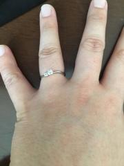 【JEWELRY  KAMATA(ジュエリーかまた)の口コミ】 私達の意見を全て叶えてくれる所が 決めてでした! なによりも他の指輪の…