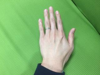 【JEWELRY  KAMATA(ジュエリーかまた)の口コミ】 妻と世界に一つだけの指輪が欲しいと話していたため、フルオーダーのでき…