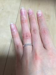 【アトリエミラネーゼの口コミ】 世界に一つしかない2人だけの指輪が欲しかったので、アトリエミラネーゼさ…
