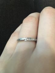 【銀座ダイヤモンドシライシの口コミ】 ふらっと立ち寄っただけだったのですが、接客してくれたお姉さんが素敵で即…