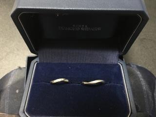 【銀座ダイヤモンドシライシの口コミ】 デザインと価格帯が適切であった。他のメーカは価格も高くデザインも奇抜で…