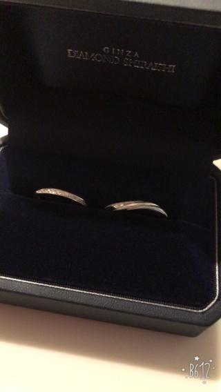 【銀座ダイヤモンドシライシの口コミ】 似たり寄ったりのデザインが多く迷ってばかりでしたが、一目見たときに、…