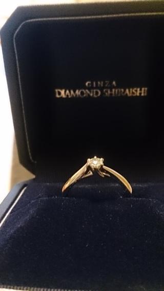 【銀座ダイヤモンドシライシの口コミ】 ほとんどアクセサリーをつけないので、なるべくシンプルなもので。と思って…