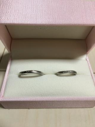 【Petit Marie(プチマリエ)の口コミ】 結婚指輪にプラチナリングを探していました。同じように見えるリングでも、…