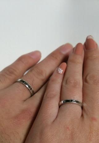 【JEWELRY  KAMATA(ジュエリーかまた)の口コミ】 すごく特徴のある指輪を望んでいたわけではありませんが、 結婚している友…