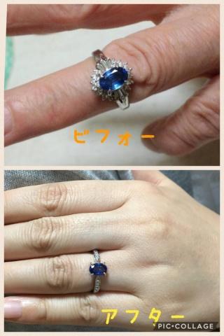 【サロン・ド・ルシェルの口コミ】 婚約指輪には義母に頂いた指輪のリメイクをお願いしました。形はガラリと変…