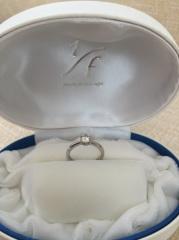 【1/f エフブンノイチの口コミ】 ダイヤを義母から譲り受け、台座を作り直して指輪のリフォームをしてくれる…