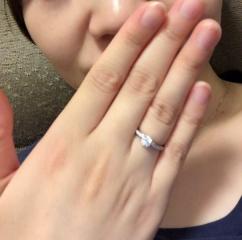 【銀座ダイヤモンドシライシの口コミ】 キャンペーン期間中だったので、カラット数もあり質も良いダイヤモンドを探…