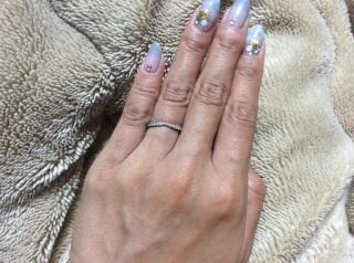 【ティファニー(Tiffany & Co.)の口コミ】 主人が選んでくれた婚約指輪がハーモニーだったので、同じデザインで合わ…