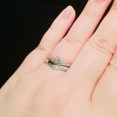 【JEWELRY  KAMATA(ジュエリーかまた)の口コミ】 他店も色々見て検討しましたが、ここが1番ダイヤが安かったです。デザイン…