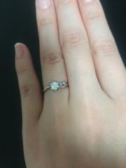 【萬時(Manji)の口コミ】 和をテーマにした指輪を得意としているご主人が京都の東寺に行った際、阿弥…