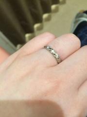 【シャネル(CHANEL)の口コミ】 結婚より妊娠が先だった為、バタバタして指輪を買えず…妊娠による…