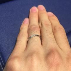 【銀座ダイヤモンドシライシの口コミ】 キャンペーン対象であるハートアンドアローのダイヤモンドの輝きが素晴らし…
