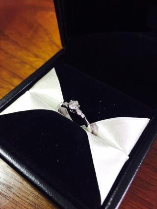 【エクセルコダイヤモンド(EXELCO DIAMOND)の口コミ】 求めていた大人な雰囲気とかわいらしさをそなえたデザインと、つけごこちが…