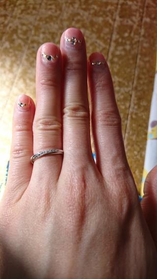 【銀座ダイヤモンドシライシの口コミ】 結婚式に間に合うよう早急に指輪を探していた。世界に1つだけの指輪になる…