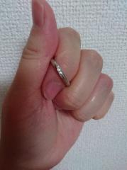 【LEHAIM(レハイム)の口コミ】 普段につけやすいようにシンプルなものを選びました。ダイヤモンドはなくて…