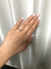 【ティファニー(Tiffany & Co.)の口コミ】 エレサ ペレッティの美しいカーブドハンドリングは、つけると指がスラリと…