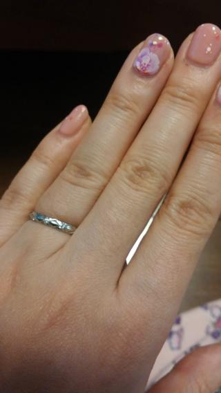 【シャネル(CHANEL)の口コミ】 婚約指輪をシャネルで購入していたので、結婚指輪も同じブランドにしまし…