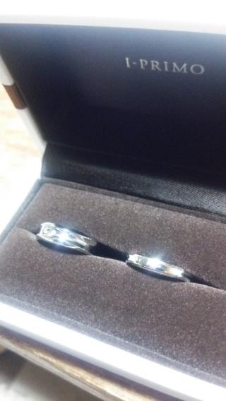【アイプリモ(I-PRIMO)の口コミ】 結婚指輪にあまりこだわりがなく、何を選んでいいか分からなかったが、スタ…