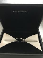 【エクセルコダイヤモンド(EXELCO DIAMOND)の口コミ】 別のお店を色々見て来ましたが、ダイヤモンドの高級感と接客が1番だなと感…