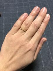 【ティファニー(Tiffany & Co.)の口コミ】 結婚式をハワイにて挙げた為、記念にアメリカのブランドの指輪を購入した…
