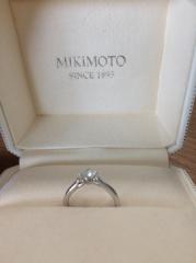 【MIKIMOTO(ミキモト)の口コミ】 国産ブランドのものがよく、他ブランドと悩んでいましたが、こちらのほうが…