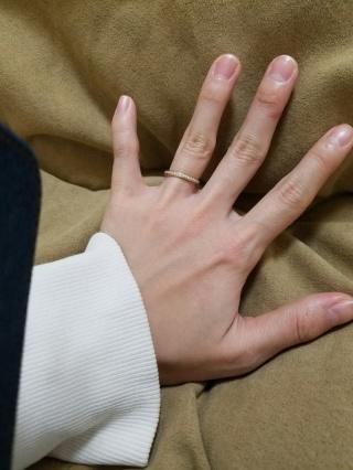 【俄(にわか)の口コミ】 京都で手作りの指輪ということで結婚する前からここにしようと決めていまし…