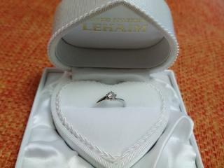 【LEHAIM(レハイム)の口コミ】 普段から指輪などのアクセサリーをつける習慣もないため、太めのデザインは…