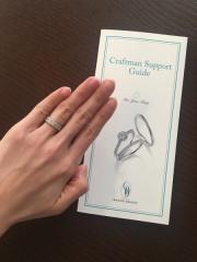 【銀座ダイヤモンドシライシの口コミ】 色んなブランドの指輪で悩んでいたところ、友達夫婦の紹介で銀座ダイヤモ…