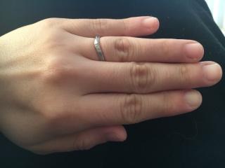 【JEWELRY  KAMATA(ジュエリーかまた)の口コミ】 世界に一つだけのデザインの指輪が作れるというのが決め手でした。 2人の…