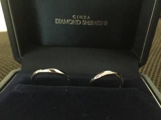 【銀座ダイヤモンドシライシの口コミ】 お互いの指の形にとてもあっていたからです。またデザインもシンプルで好…