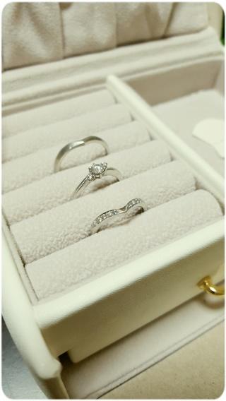 【JEWELRY  KAMATA(ジュエリーかまた)の口コミ】 婚約指輪を八戸店で購入し、セットで組み合わせた際に同じブランドで纏め…