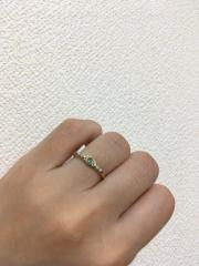 【agete(アガット)の口コミ】  婚約指輪は、元々好きなブランドであるアガットにしようと思ってました。…