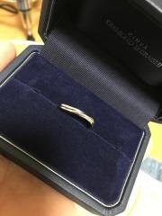 【銀座ダイヤモンドシライシの口コミ】 つけ心地がとても良かったのと、他のと比べても何と言ってもデザイン‼︎デ…