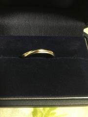 【銀座ダイヤモンドシライシの口コミ】 デザインが良かった!自分の指にフィットするサイズの物があり、嬉しかった…