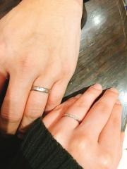 【ガラOKACHIMACHIの口コミ】 満足するまで、いくつも試着させて頂き、気にいるリングを探せました。価…