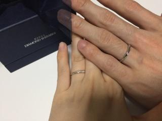 【銀座ダイヤモンドシライシの口コミ】 可愛いデザインがたくさんあり選ぶのにとても悩みました!価格帯も予算内で…