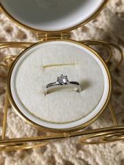 【JEWELRY  KAMATA(ジュエリーかまた)の口コミ】 主人がサプライズでプレゼントしてくれました。 わたしの父と母の婚約指輪…