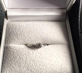 【Mariage(マリアージュ)の口コミ】 とてもデザインが気に入ったのと、ピンクダイヤをどうしても入れたかったの…