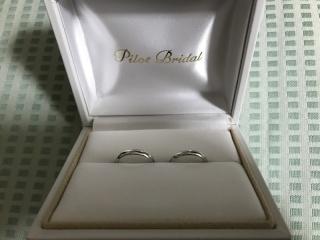 【PILOT BRIDAL(パイロットブライダル)の口コミ】 着け心地が他の指輪とは全く異なり、とても心地よい。指輪は普段着けない…