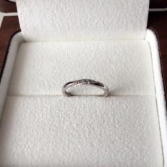 【Ponte Vecchio(ポンテヴェキオ)の口コミ】 値段も手頃でこのブランドが好きだったので、ここの指輪にしました。ナナ…