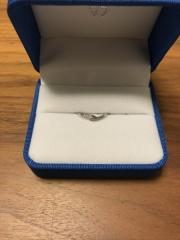 【ガラOKACHIMACHIの口コミ】 当初、夫婦とも指輪に全くこだわりが無く、値段を安く済ませることが第一…