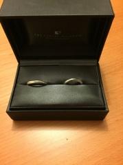【ラザール ダイヤモンド(LAZARE DIAMOND)の口コミ】 婚約指輪が別のブランドだったのだが、一緒に着けた時に違和感がなかったの…